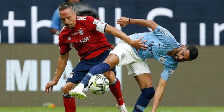 Menang Comeback 3-2, Man City Terancam Tanpa Riyad Mahrez Awal Musim
