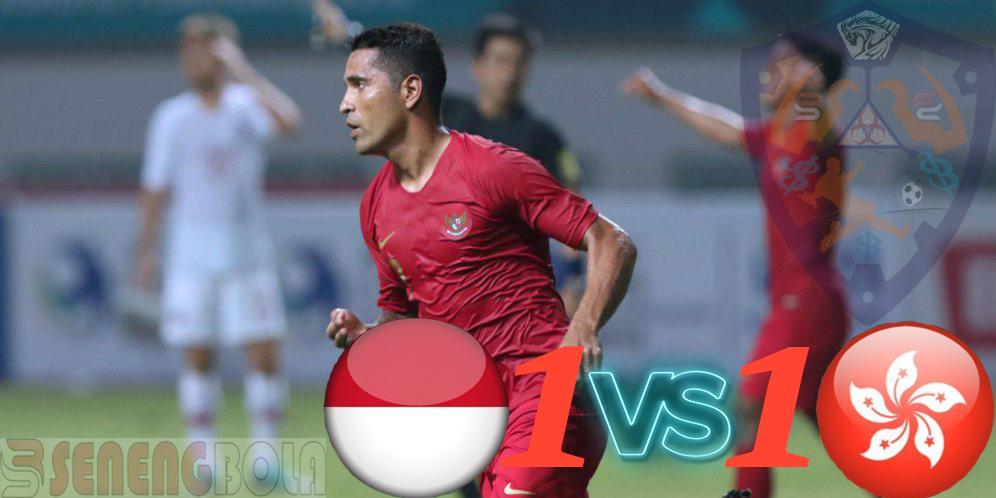 Hasil Laga Uji Coba : Indonesia Ditahan Imbang Hongkong 1-1