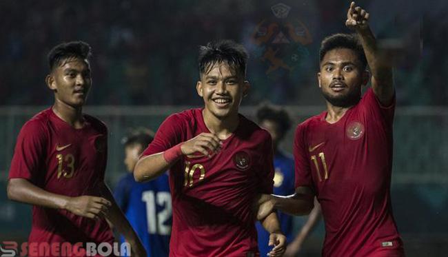 Hasil Piala AFC U-19 2018 : Indonesia Taklukan Chinese Taipei 3-1