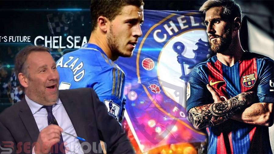 Eden Hazard Punya Kemampuan Untuk Samai Level Messi
