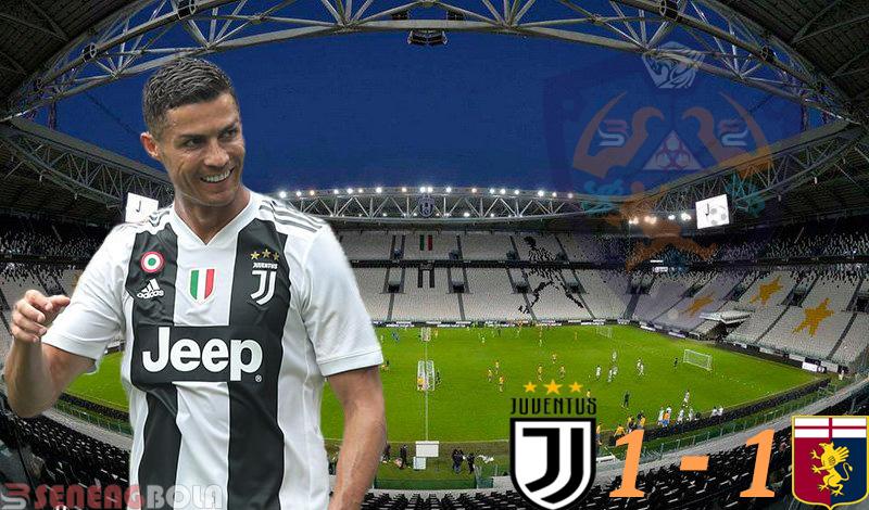 Hasil Liga Italia : Juventus Ditahan Imbang Genoa 1-1