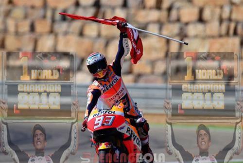 Marc Marquez akan Juarai MotoGP 2018 Lebih Awal