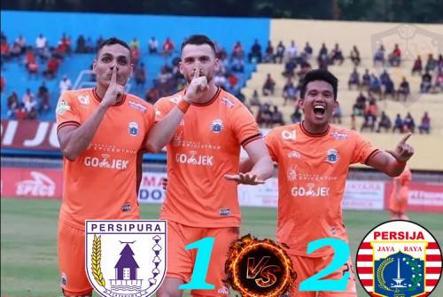 Hasil Liga 1 : Persipura Harus Takluk dari Persija 1-2