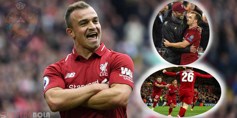 Berkat Shaqiri, Liverpool Pesta Goal Atas Red Star Belgrade