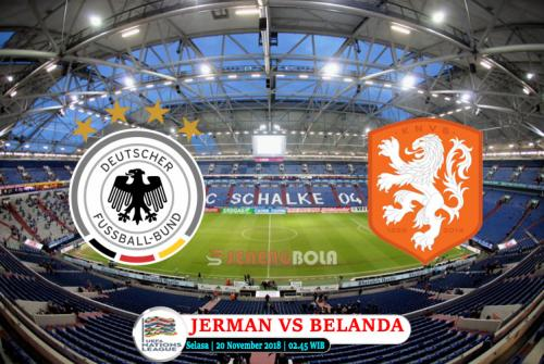 Prediksi UEFA Nations League : Jerman Vs Belanda 20 November 2018