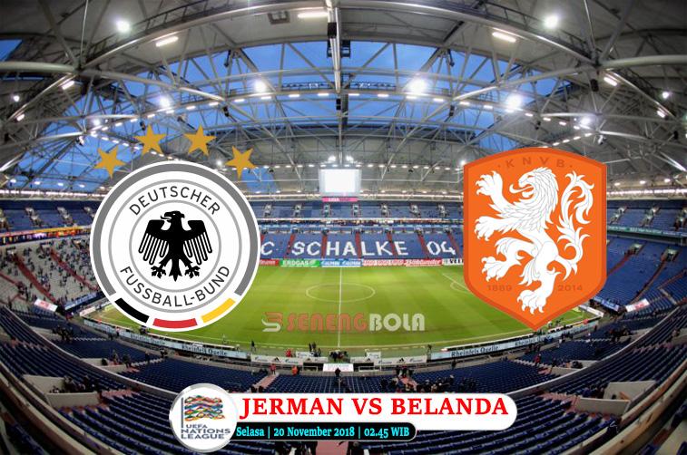 Prediksi UEFA Nations League : Jerman Vs Belanda 20 November 2018