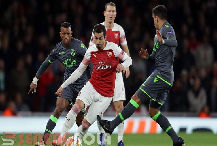 Hasil Liga Eropa : Arsenal Diimbangi Sporting 0-0