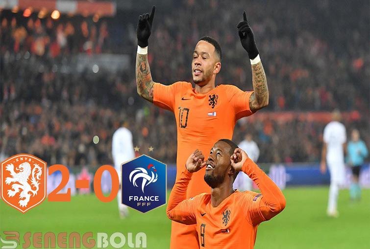 Hasil UEFA Nations : Belanda Hajar Prancis 2-0