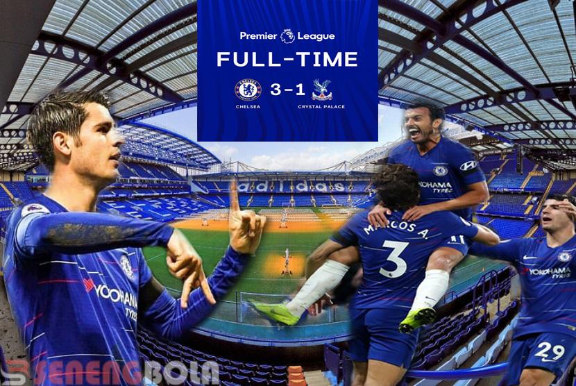 Hasil Liga Inggris : Chelsea Lumat Crystal Palace 3-1