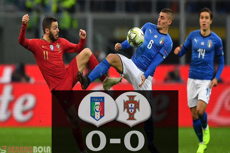 Hasil UNL : Italia Tertahan, Portugal Melenggang