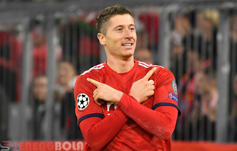 Robert Lewandowski Lewati Rekor Thierry Henry di Liga Champions