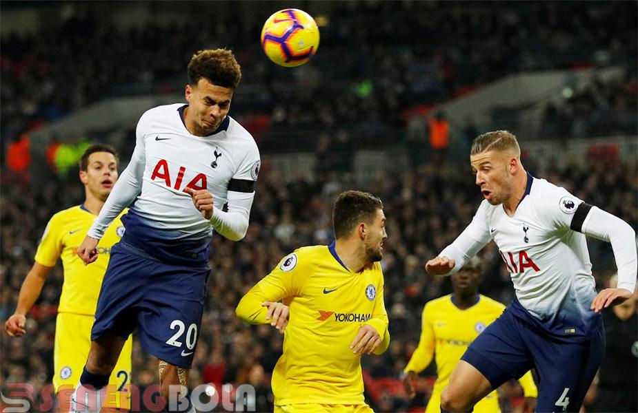 Hasil Liga Inggris : Tottenham Tekuk Chelsea 3-1
