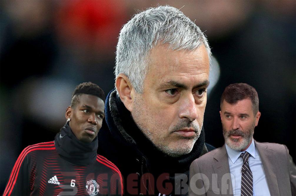 Roy Keane: Jose Mourinho pun Kecewa Dengan Sikap Paul Pogba