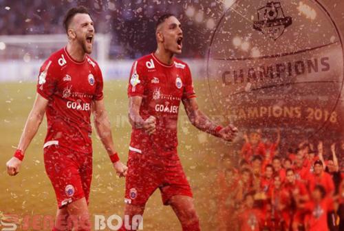 Persija Jakarta Juarai Liga 1 Indonesia