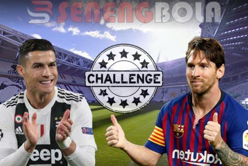 Wow Ronaldo Tantang Messi Bermain di Serie A