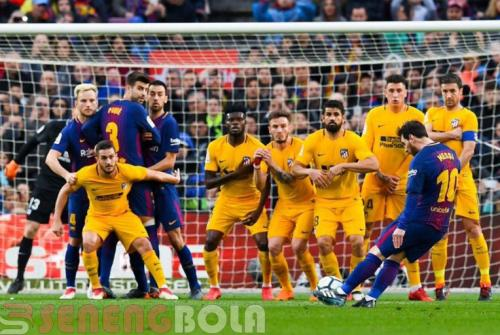 Beberkan Teknik Tendangan Bebas Lionel Messi