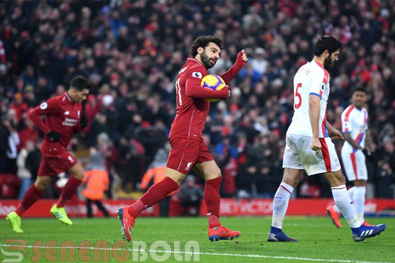 Hasil Liga Inggris : Liverpool Menang Tipis 4-3 Atas Crystal Palace