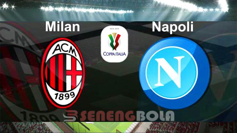Prediksi Coppa Italia : AC Milan Vs Napoli 30 Januari 2019