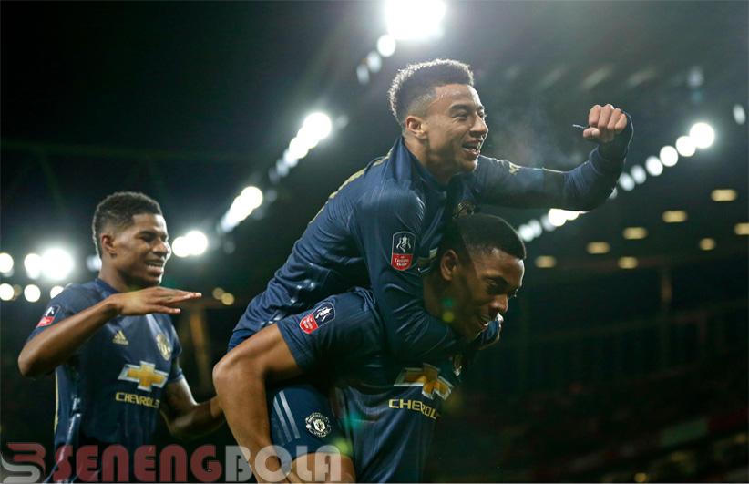 Hasil Piala FA : Arsenal Ditaklukan Manchester United 1-3