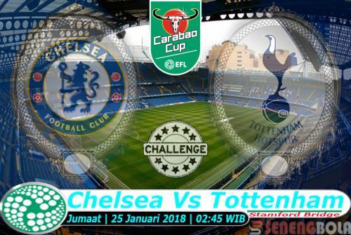 Prediksi Carabao Cup : Chelsea Vs Tottenham 25 Januari 2019