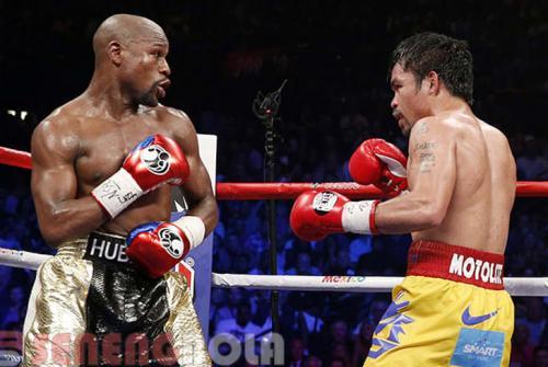 Rindu Bertarung Dengan Mayweather, Manny Pacquiao Ajak Duel Lagi
