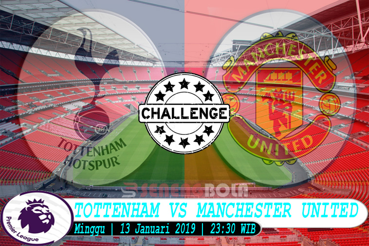 Prediksi Liga Inggris : Tottenham Vs Manchester United 13 Januari 2019
